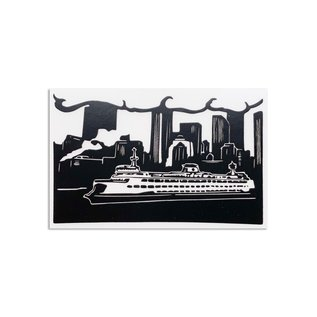Constellation & Co. Seattle Ferry Sticker