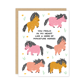 Party of One Valentine's Day - Herd of Miniature Horses