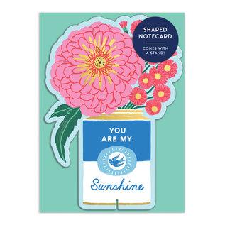 Chronicle Books Greeting Card - Ever Upward Sunshine