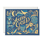 Red Cap Cards Greeting Card - You're Gold