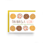 Nicole Marie Paperie Thank You Card - Thanks a Lox