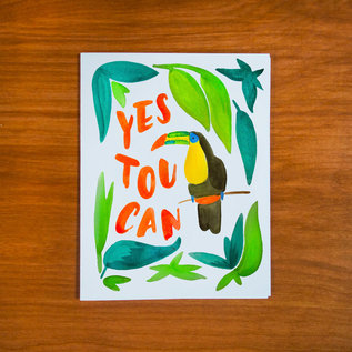 Pretty Bird Paper Co. Encouragement Card - Yes Toucan