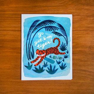 Pretty Bird Paper Co. Encouragement Card - Go Get 'Em Tiger