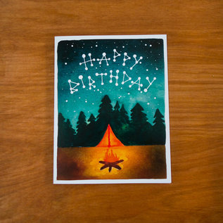 Pretty Bird Paper Co. Birthday Card - Camp Birthday
