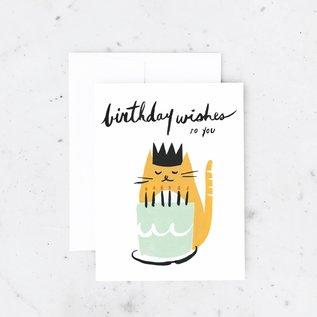 Idlewild Birthday Card - Kitty Wishes