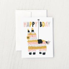 Idlewild Birthday Card - Piñata
