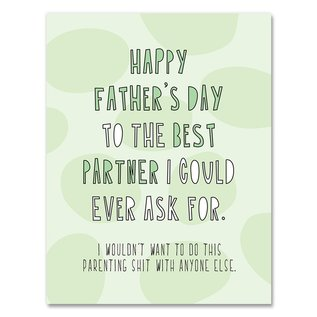 Near Modern Disaster Father's Day - Best Partner