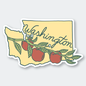 Pike St. Press WA Apples Sticker