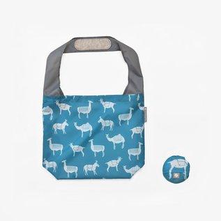 Flip & Tumble Pattern Shopper Bag - Pack Animals