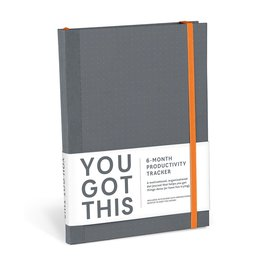 Knock Knock You Got This Productivity Journal - Gray