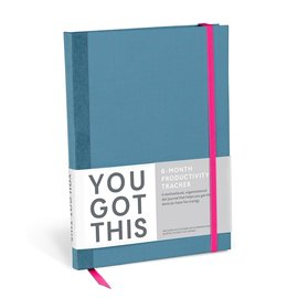 Knock Knock You Got This Productivity Journal - Blue