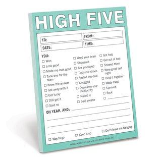 Knock Knock High Five Nifty Notes