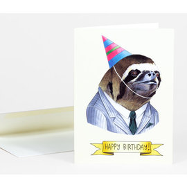 Buy Olympia Birthday Card - Berkley Illustration Sloth