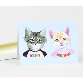 Buy Olympia Birthday Card - Berkley Illustration Kittens