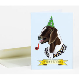 Buy Olympia Birthday Card - Berkley Illustration Goat