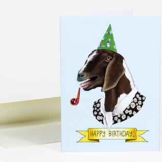 Buy Olympia Birthday Card - Berkley Illustration Goat