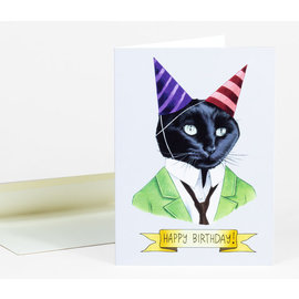Buy Olympia Birthday Card - Berkley Illustration Cat