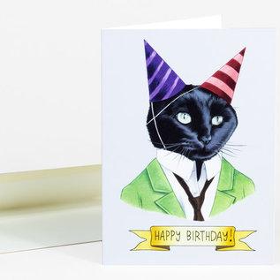 Buy Olympia Birthday Card - Berkley Illustration Cat