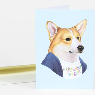 Buy Olympia Greeting Card - Berkley Illustration Best Corgi