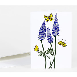 Buy Olympia Greeting Card - Lupine with Monarch