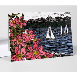 Buy Olympia Greeting Card - Bay Blossoms