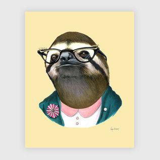 Buy Olympia Berkley Illustration 8x10 Print - Sloth Lady