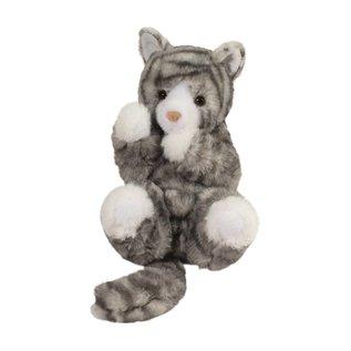 Douglas Company, Inc Lil' Handfuls Gray Cat Plush