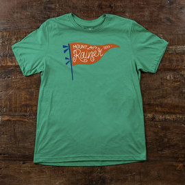 Good & Well Supply Co. Mount Rainier Adult Tee