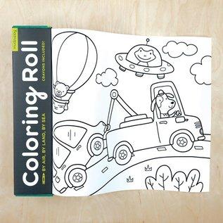 Chronicle Books Mini Coloring Roll