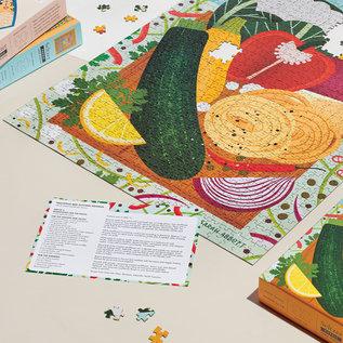 Seltzer Veggie Recipe Puzzle