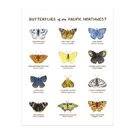 Yardia Butterflies of the PNW Print