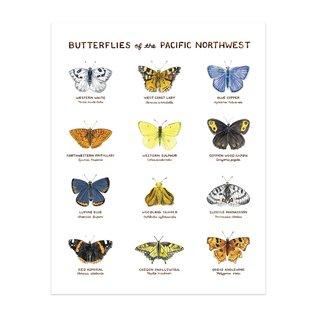 Yardia Butterflies of the PNW Print