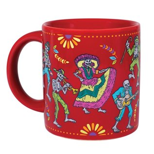 Unemployed Philosophers Guild Day of the Dead Transforming Mug