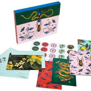 Simon & Schuster / Andrews McMeel Art of Nature: Botanical Card Portfolio Set