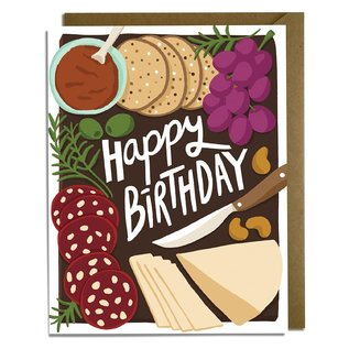 Kat French Design Birthday Card - Charcuterie