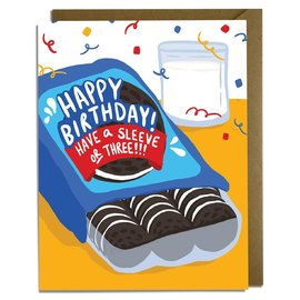 Kat French Design Birthday Card - Oreo Cookies