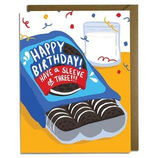 Kat French Design Birthday Card - Oreo Cookies