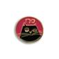 Mincing Mockingbird No Cat Enamel Pin