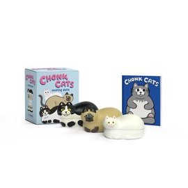 Perseus Books Group Chonk Cats Nesting Dolls