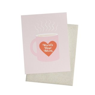Knot & Bow Mother's Day Card - World's Best Mug