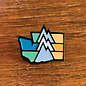Alki Supply Company WA Mountain Enamel Pin