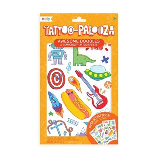 Ooly Awesome Doodles Temporary Tattoos