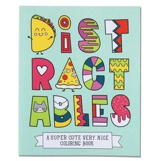 Free Period Press Distractables Coloring Book