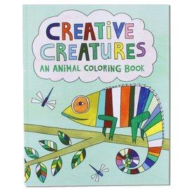 Free Period Press Creative Creatures Coloring Book