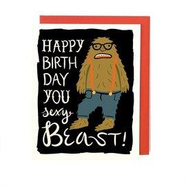 Little Low Birthday Card - Sexy Beast