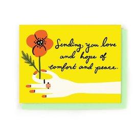 Little Low Greeting Card - Sending Hope