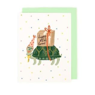 Little Low Housewarming Card - Turtle