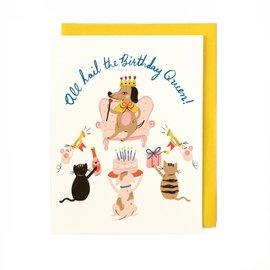 Little Low Birthday Card - Birthday Queen