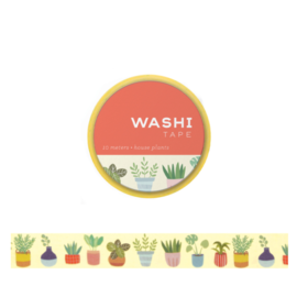 Girl of All Work House Plants Washi Tape