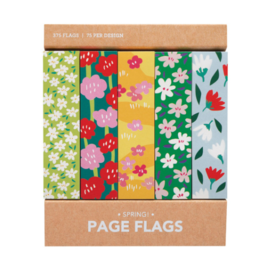 Girl of All Work Spring! Page Flags